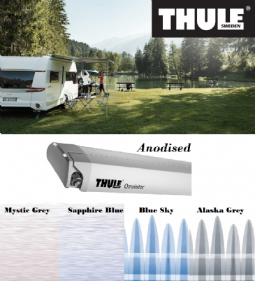 Thule Omnistor 6200 Awning for vans, caravans and motorhomes- Anodised